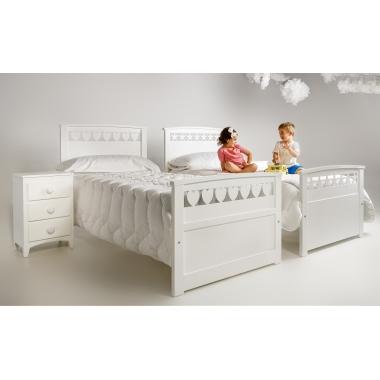Dormitorio infantil Estrella y Corazon