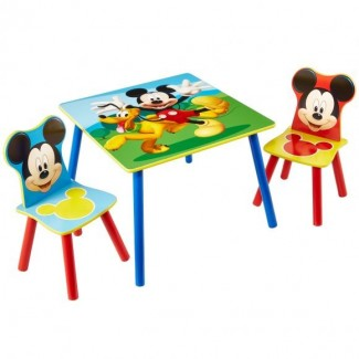 Mesa y Sillas Mickey Mouse