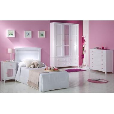 Dormitorio infantil Cabecero Curvo