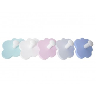 Percha de pared infantil Nube