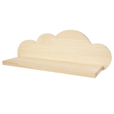 Estantería Nube de madera Natural